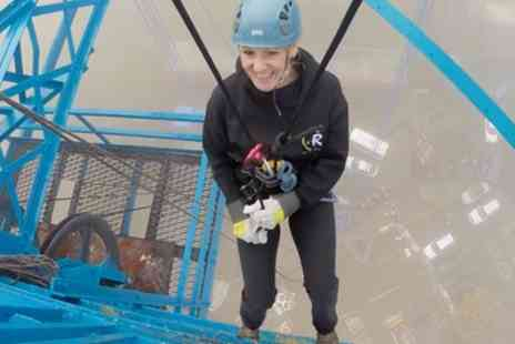 Climbing Rocks - Tees Transporter Bridge Abseiling Experience - Save 7%