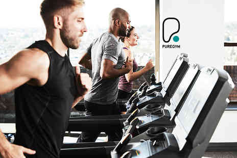 Pure Gym - Five non consecutive day passes - Save 90%