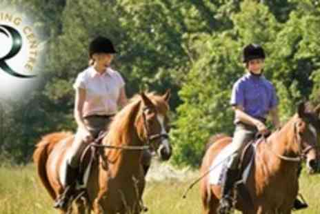 Redesdale Riding Centre - One Hour Horse Trail For One - Save 64%