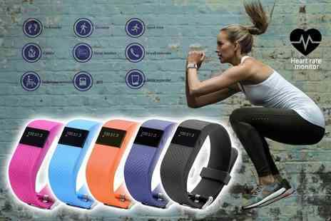 Ugoagogo - Next gen TW64s 8 in 1 Bluetooth sports activity bracelet choose from five colours - Save 87%