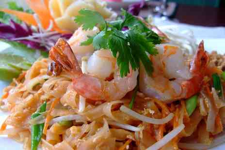 Wendys Thai - Two course Thai dining for two with prawn crackers and soft drink - Save 55%