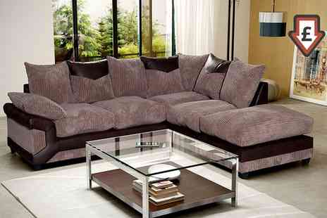 Groupon Goods Global GmbH - Dino Sofa Collection Two Seater, Three Seater or Corner Sofa With Free Delivery - Save 60%