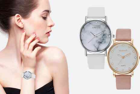 neverland sales - Marriott or Steele Womens Watches with Crystals from Swarovski Include Free Delivery - Save 75%