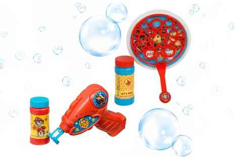 Groupon Goods Global GmbH - Paw Patrol Bubble Maker - Save 0%