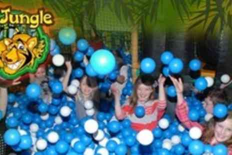 The Jungle - Soft Play For Two Children With Drink Each - Save 60%