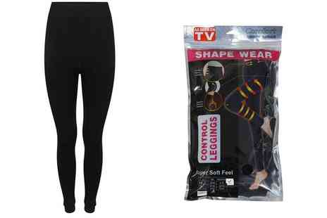 Groupon Goods Global GmbH - Thermal Shape Wear Leggings Two Pack - Save 0%