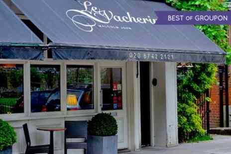 Le Vacherin - Two AA Rosette and Michelin Listed Dining Experience with Wine and Coffee for One or Two - Save 45%