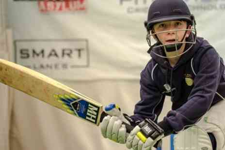 The Cricket Asylum - One to One Cricket Coaching Session with Video Analysis - Save 46%