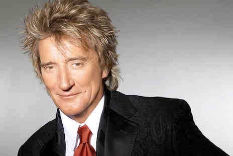 SuperBreak - Rod Stewart Live in Newcastle on 9 June 2017 and 1 Night Hotel Stay with Concert Ticket and Breakfast - Save 0%