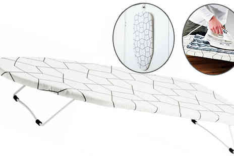 Fusion - Travel Ironing Board with Graphic Print Cover - Save 64%