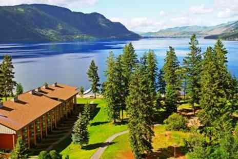 Quaaout Lodge - British Columbia Beachfront Hideaway including $50 Credit - Save 0%