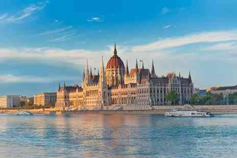 Weekender Breaks - Two or three night Budapest break including flights and entry to Aquaworld - Save 39%