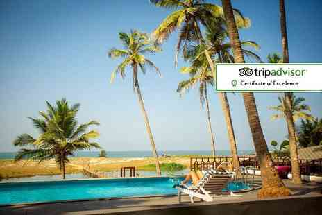 Crystal Travel - Seven or ten night Goa beach escape with breakfast and flights - Save 28%