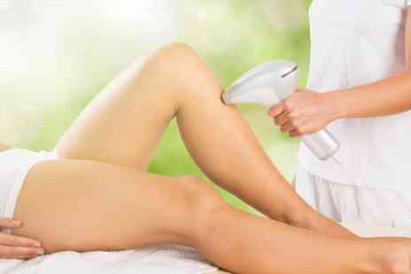 Sheer Bliss - Three sessions of laser hair removal on 3 small areas - Save 42%