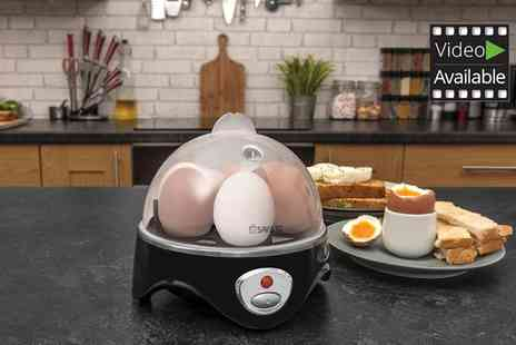 Groupon Goods Global GmbH - Savisto Three in One Egg Boiler, Poacher and Omelette Maker - Save 40%