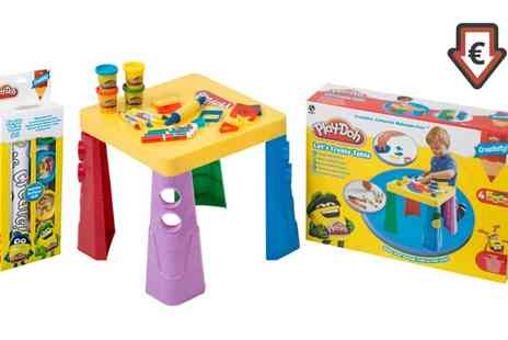 Groupon Goods Global GmbH - Play Doh Four Finger Paints and Paper Roll - Save 0%