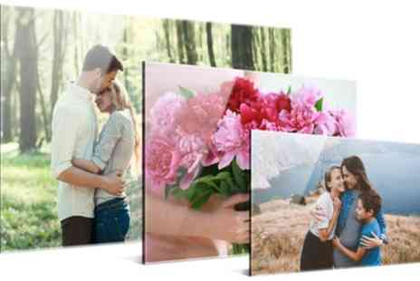 Photo Gifts - One or Two Personalised Acrylic Photo Prints in Choice of Size - Save 69%