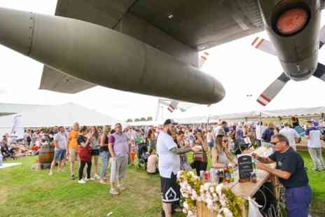 Royal Air Force Museum Cosford - Cosford Food Festival Entry for Two Adults or a Family on 22 To 23 July  - Save 25%