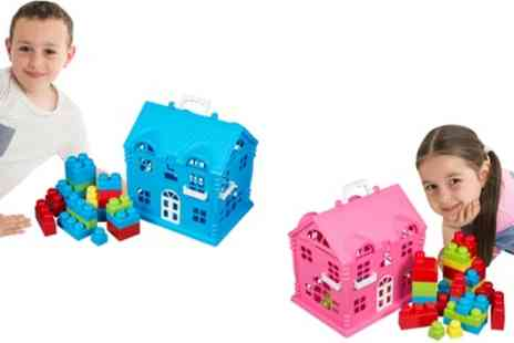 Groupon Goods Global GmbH - Playhouse with Blocks - Save 0%