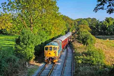 Ecclesbourne Valley Railway - Derbyshire Heritage Train Ride & Afternoon Tea for 2 - Save 24%