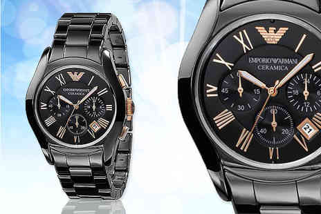 Wristy Business - Emporio Armani watch - Save 70%