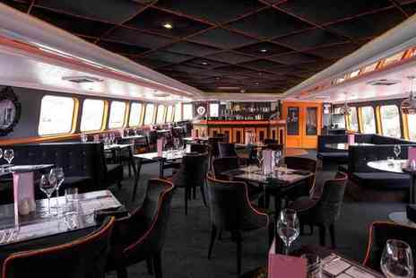 R S Hispaniola - Two course meal with Prosecco for two - Save 54%