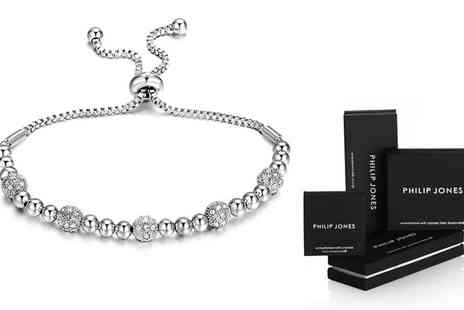 Groupon Goods Global GmbH - One or Two Beaded Friendship Bracelet with Crystals from Swarovski - Save 75%