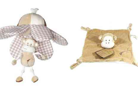 Groupon Goods Global GmbH - Baby Buds Hangin or Sprial Toy with Blankie - Save 0%
