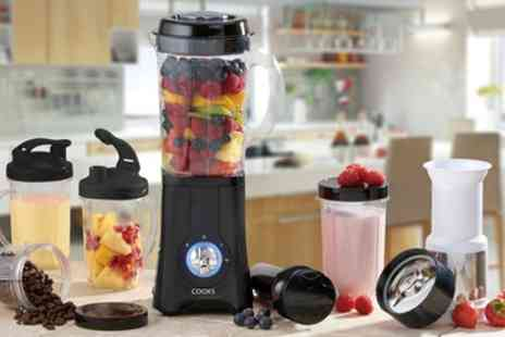 Groupon Goods Global GmbH - Cooks Professional Multi functional Blender in a Choice of Colour - Save 58%