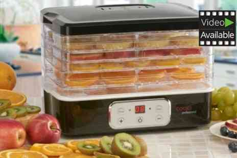 Groupon Goods Global GmbH - Cooks Professional Six Tier Food Dehydrator with Digital Temperature Control - Save 53%