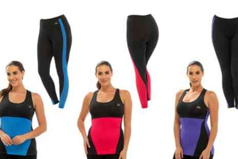 Groupon Goods Global GmbH - Sport Top and Leggings Set - Save 0%