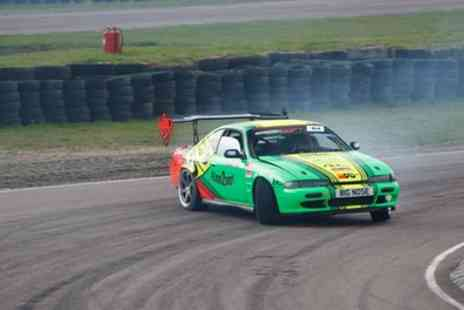 Learn 2 Drift - 12 Lap Drift Taxi Passenger Experience - Save 57%