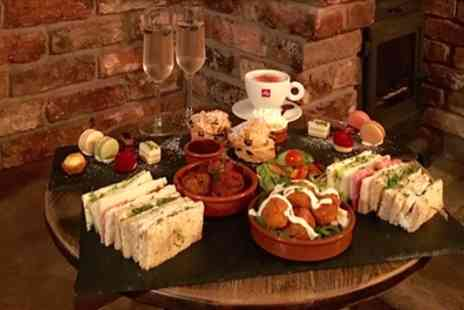 Freemasons Pub & Smokehouse - Afternoon Tea with Optional Prosecco for Two or Four - Save 45%