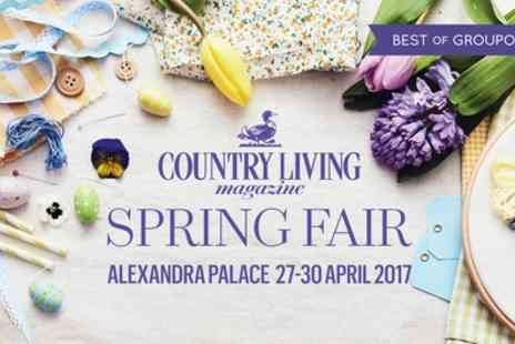 Country Living - One or Two Tickets to Country Living Magazine Fair On 27 To 30 April 2017 - Save 16%