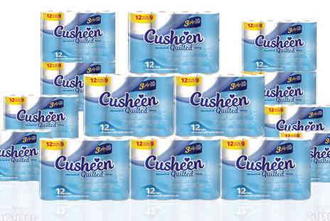 Supreme Direct - 3 Ply 60 Sheet Cusheen Toilet Roll Packs - Save 60%