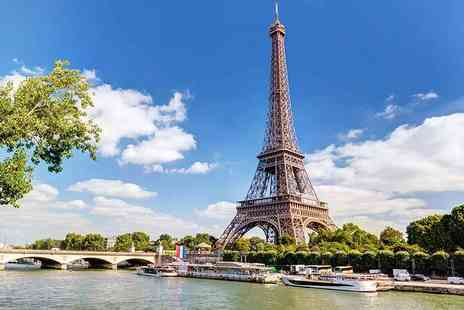 Crystal Travel - Two or three night Paris break with flights - Save 39%