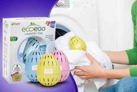 Ecoegg - 720 wash laundry egg choose from three fresh scents - Save 50%