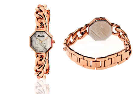 Idealdeal - Bertha Ethel collection watch in rose gold, gold or silver - Save 84%