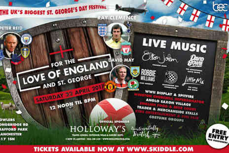 BEC Management - Entry to the Saint Georges Day Festival - Save 50%