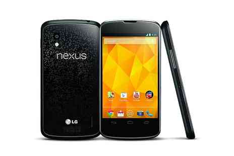 Greentech Distribution PLC - Refurbished LG Google Nexus With Free Delivery - Save 0%
