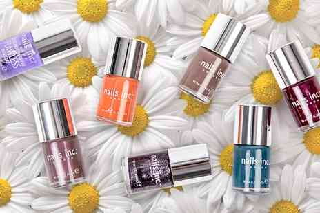 Groupon Goods Global GmbH - Nails Inc Four Piece Nail Polish Collection - Save 77%
