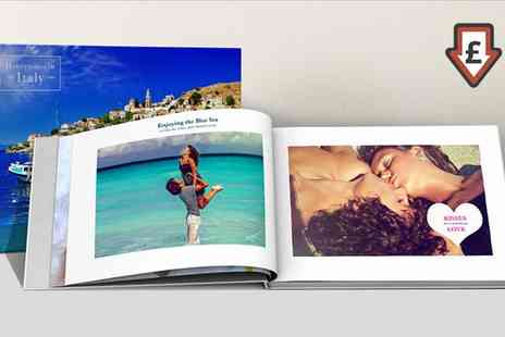Printerpix - A4 Hardcover Photobooks One or Two - Save 87%