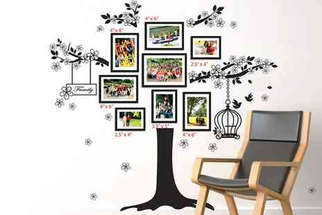 Groupon Goods Global GmbH - Tree Photo Frame Wall Art in Choice of Design - Save 0%