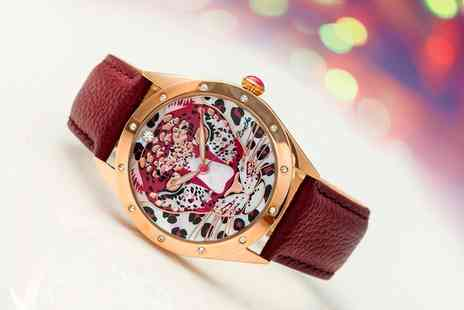 Groupon Goods Global GmbH - Bertha Alexandra Bracelet Watch With Free Delivery - Save 87%
