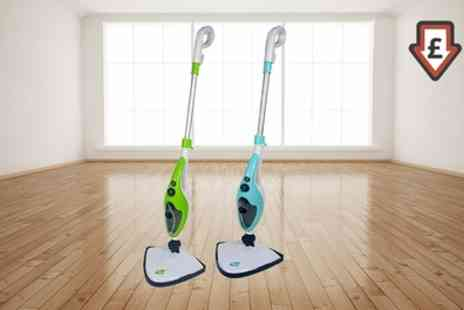 Groupon Goods Global GmbH - Neo Ten In One 1500W Steam Mop Cleaner - Save 75%