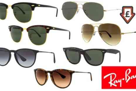Groupon Goods Global GmbH - Ray Ban Sunglasses With Free Delivery - Save 34%