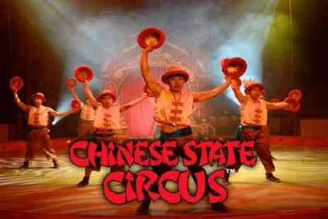 Chinese State Circus -  One front circle ticket to see the Chinese State Circus on 18 April To 7 May - Save 55%