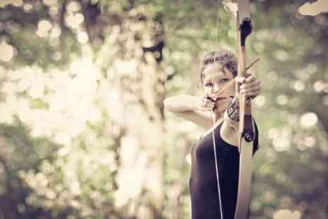 Mad Renaline Activities - Archery Experience for One or Two - Save 25%