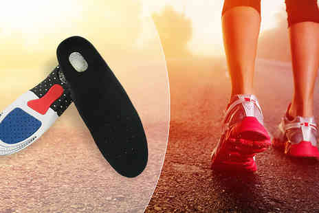 We can make it - Silicone Gel Insoles Buy 1 or 2 Pairs - Save 0%