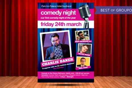 Park Inn Palace - Ticket to Comedy Night on 24 March - Save 56%